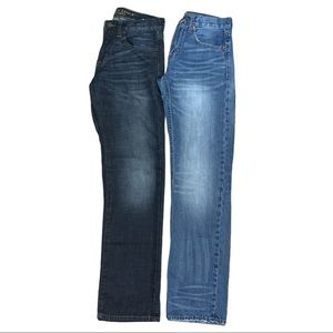 American Eagle Men's 2 Pairs of Jeans Size 28x32